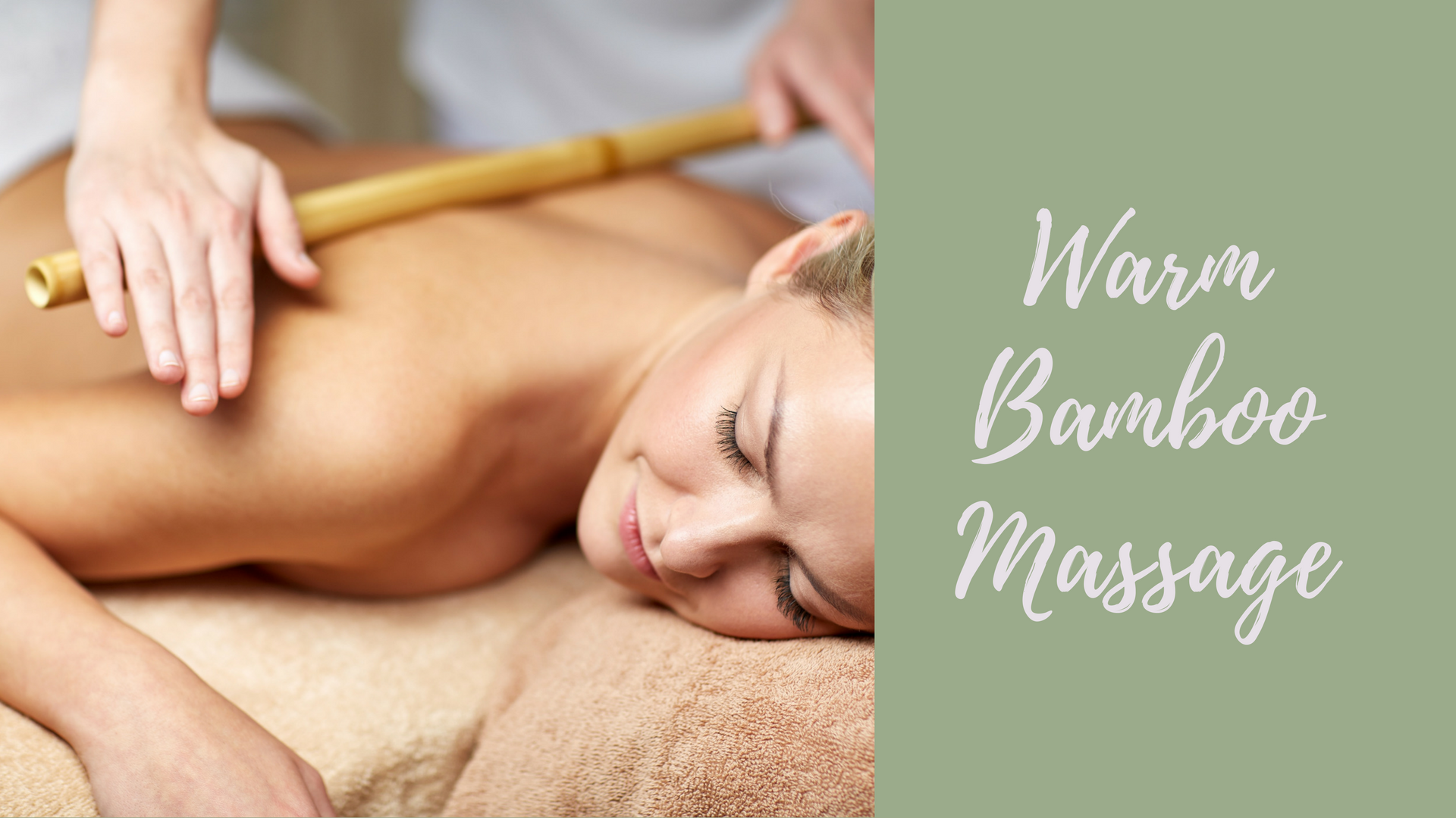 Warm Bamboo Massage in Des Moines, WA
